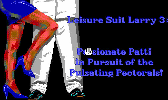 Leisure Suit Larry 3 Title Screen