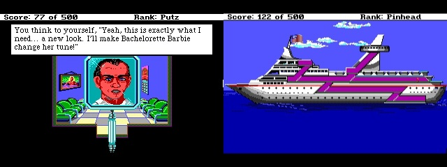 Leisure Suit Larry 2 Haircut/Cruise