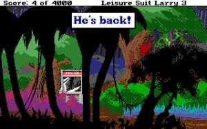 Leisure Suit Larry 3 He's Back