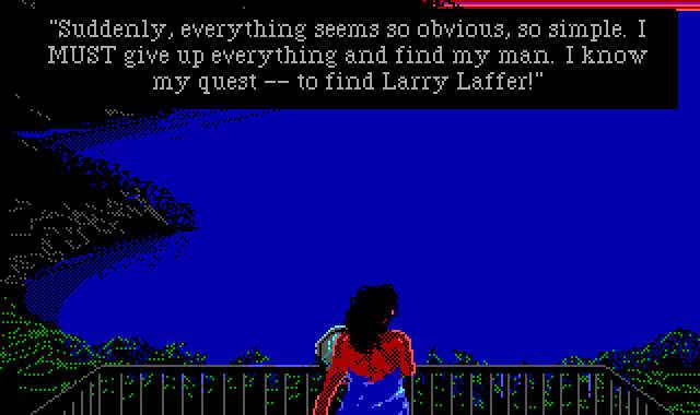 Leisure Suit Larry 3 - Patti's Quest to find Larry