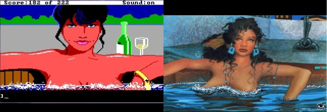 Eve in Leisure Suit Larry 1