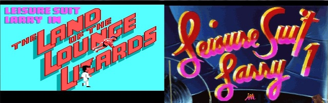 Leisure Suit Larry in the Land of the Lounge Lizards Title Screen